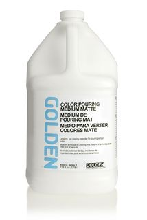 GOLDEN COLOR POURING MEDIUM MATTE 3.78L
