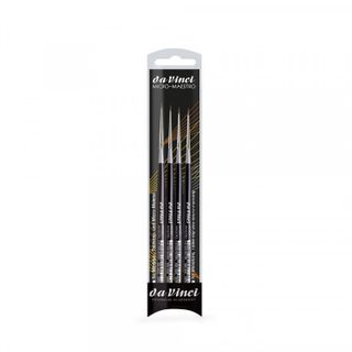 DA VINCI MICRO MAESTRO BRUSH SET 4
