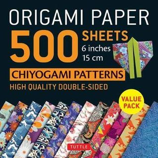 ORIGAMI PAPER CHIYOGAMI PATTERNS 500 SHEETS