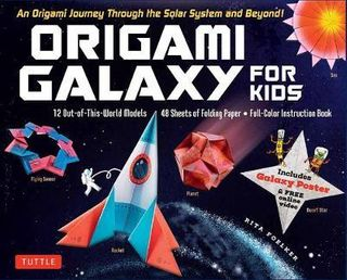ORIGAMI GALAXY FOR KIDS BOXED KIT