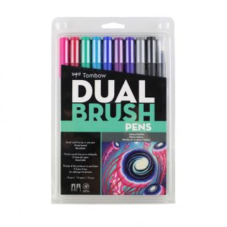 TOMBOW ABT BRUSH MARKER SET 10 GALAXY
