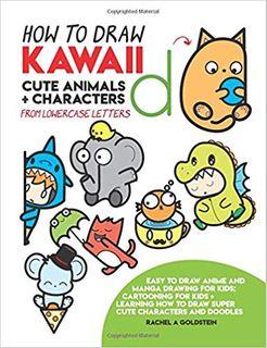 HOW TO DRAW KAWAII CUTE ANIMALS + CHARACTERS