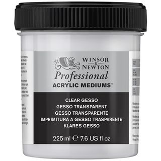 W&N ARTIST ACRYLIC CLEAR GESSO 225ML