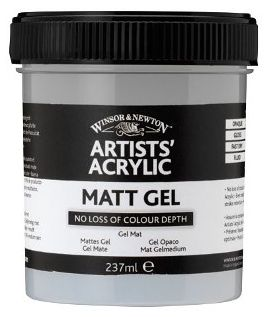 W&N ARTIST ACRYLIC MATT GEL 237ML