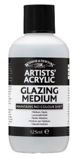 W&N ARTIST ACRYLIC GLAZING MEDIUM 125ML