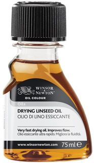 W&N DRYING LINSEED OIL 75ML