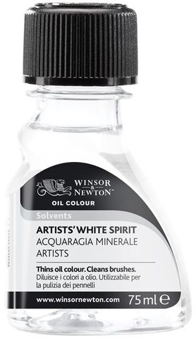 W&N ARTISTS WHITE SPIRIT 75ML