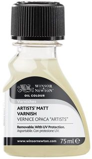 W&N ARTISTS MATT VARNISH 75ML