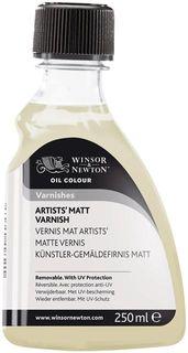W&N ARTISTS MATT VARNISH 250ML