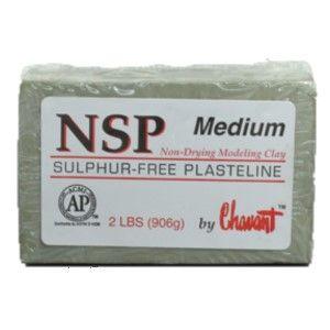 CHAVANT NSP PLASTELINE MEDIUM 906G GREEN