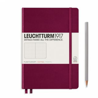 LEUCHTTURM1917 NOTEBOOK MED DOTTED PORT RED