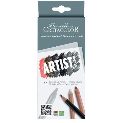 CRETACOLOR ARTIST STUDIO DRAWING SET 11