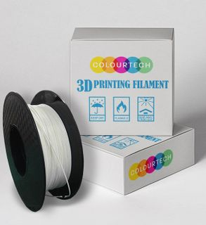 3D PRINTING FILAMENT ABS 1.75MM 1KG ROLL WHITE