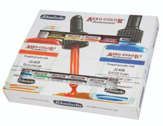SCHMINCKE AEROCOLOR ADVANCED SET 12 X 28ML