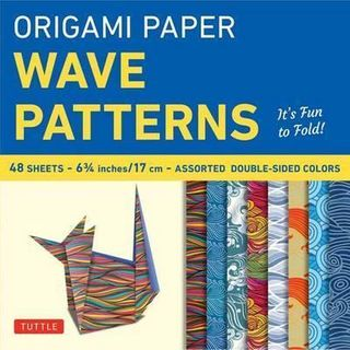ORIGAMI PAPER WAVE 17CM 48 SHEETS