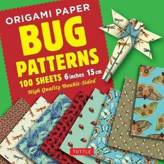 ORIGAMI PAPER BUG PATTERNS