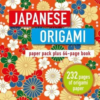 JAPANESE ORIGAMI PLUS 250 SHEETS PAPER