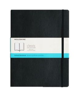 MOLESKINE SOFTCOVER NOTEBOOK DOTGRID XL BLACK