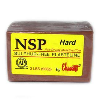 CHAVANT NSP PLASTELINE HARD 906G BROWN