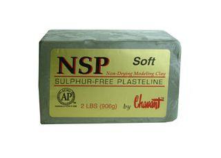 CHAVANT NSP PLASTELINE SOFT 906G GREEN