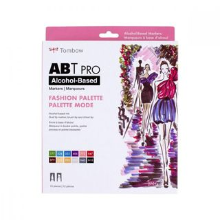 TOMBOW ABT PRO ALCOHOL MARKER SET 12 FASHION COLOR