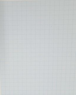 REEVES GRAPH PAPER SHEET 2MM 70GSM A2