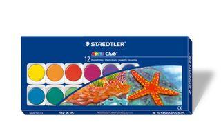STAEDTLER NORIS CLUB WATERCOLOURS BOX 12