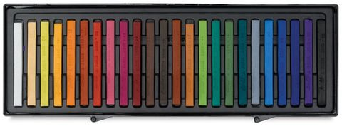 CONTE COLOUR CARRE CRAYONS ASSORTED SET 24