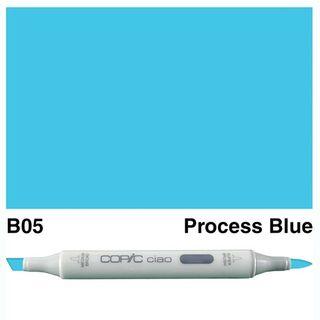 COPIC CIAO MARKER B05 PROCESS BLUE