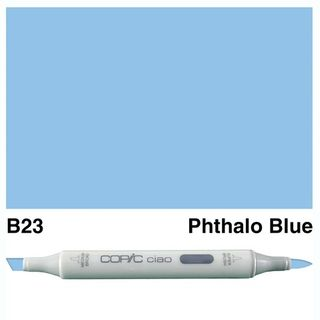COPIC CIAO MARKER B23 PHTHALO BLUE