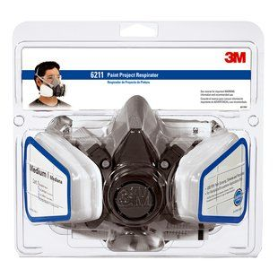 3M PAINT PROJECT RESPIRATOR OV/P95 6211P1