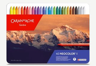 NEOCOLOR I WAX CRAYON TIN SET 40