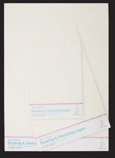 HAHN D&S 140G DRAWING PAPER A2 PKT 20