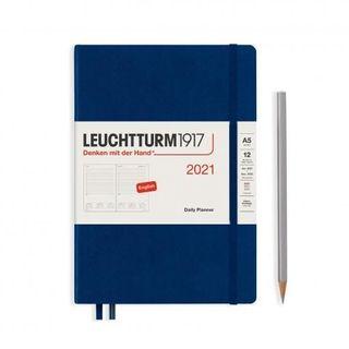 LEUCHTTURM1917 DAILY PLANNER A5 2021 NAVY