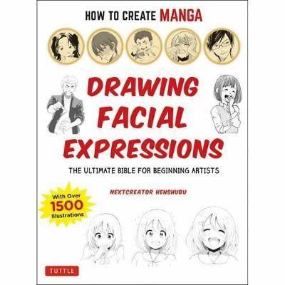 HOW TO CREATE MANGA FACIAL EXPRESSIONS