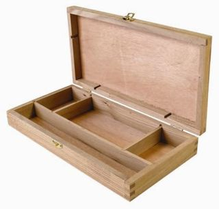 EXPRESSION WOODEN SKETCH BOX SMALL