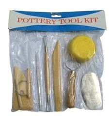 EXPRESSION POTTERY TOOL KIT 8PC