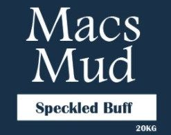 MACS SPECKLED BUFF CLAY 20KG