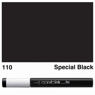 COPIC INK 110 SPECIAL BLACK NEW BOTTLE