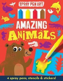 AMAZING ANIMALS SPRAY PEN ART