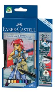 FABER ART GRIP AQUA ANIME ART FANTASY
