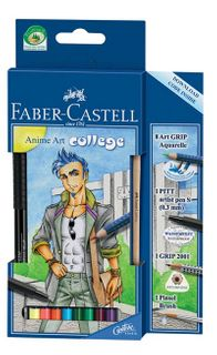 FABER ART GRIP AQUA ANIME ART COLLEGE