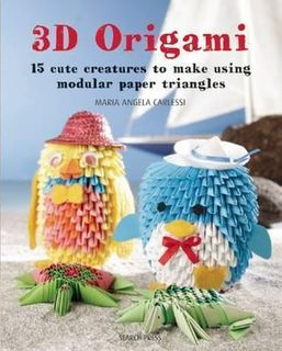 3D ORIGAMI 15 CUTE CHARACTERS