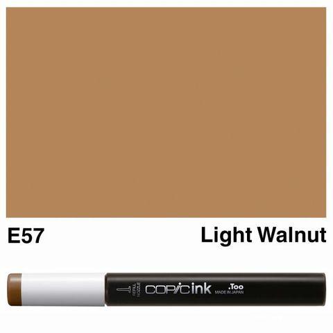 COPIC INK E57 LIGHT WALNUT NEW BOTTLE