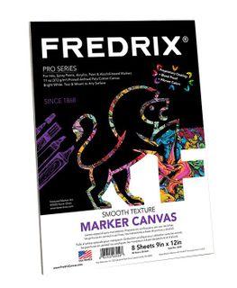 FREDRIX PRO SERIES MARKER CANVAS PAD 23 X 30CM