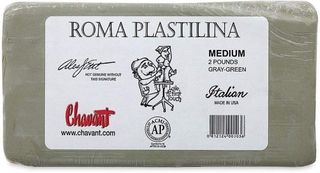 CHAVANT ROMA PLASTILINA MED 906G GREY-GREEN