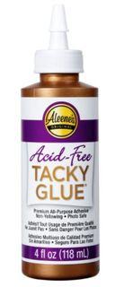 ALEENE'S ACID FREE TACKY GLUE 118ML