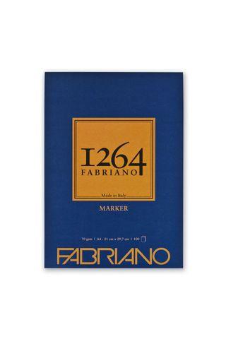 FABRIANO 1264 MARKER 70G A4 GLUED PAD (100)