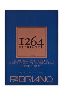 FABRIANO 1264 BRISTOL 200G A3 GLUED PAD (50)