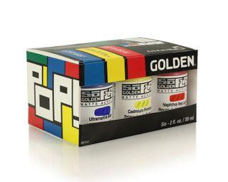 GOLDEN SOFLAT 6 X 59ML POP SET
